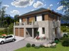 Проект индивидуального двухэтажного  жилого дома